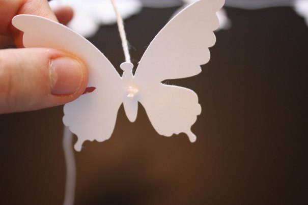 Móbile de Borboleta   DIY papel móbile de borboleta móbile decoração de borboleta borboleta de papel borboleta