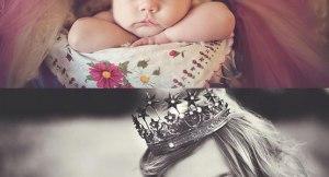 Idéia de como fotografar sua princesinha - Antes e Depois