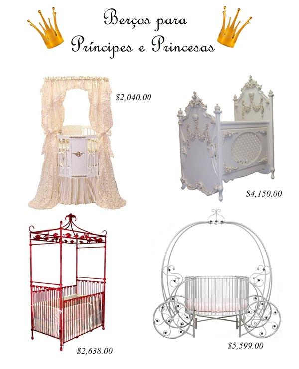 Berços para Príncipes e Princesas