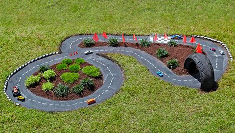 Uma Estrada de Brincar - DIY