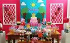 festa de aniversario peppa pig 8