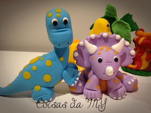 Dinossauro em biscuit2